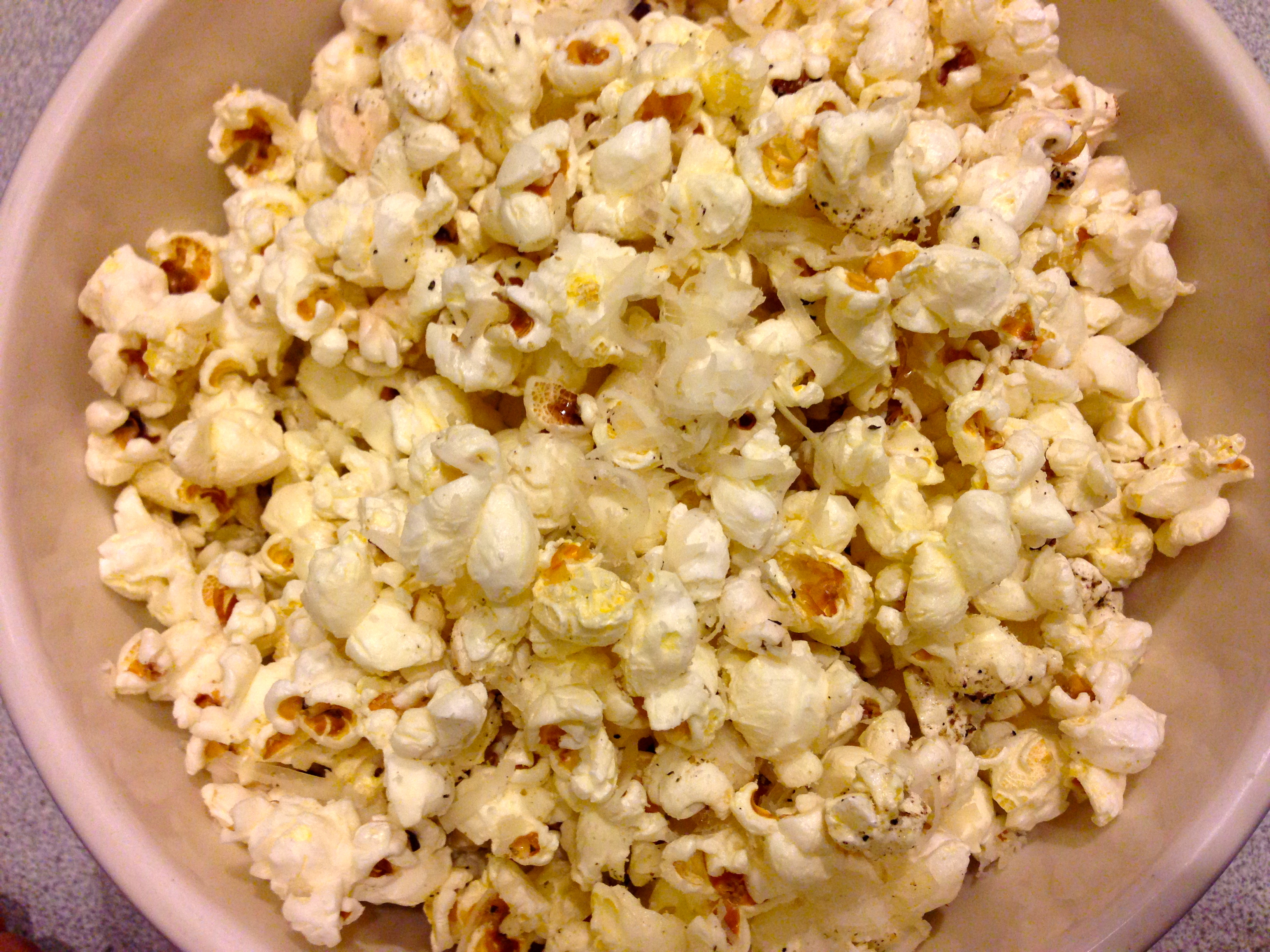Truffle Popcorn via Kitchen Nomad