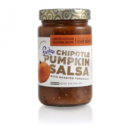 Chipotle Pumpkin Salsa via Kitchen Nomad