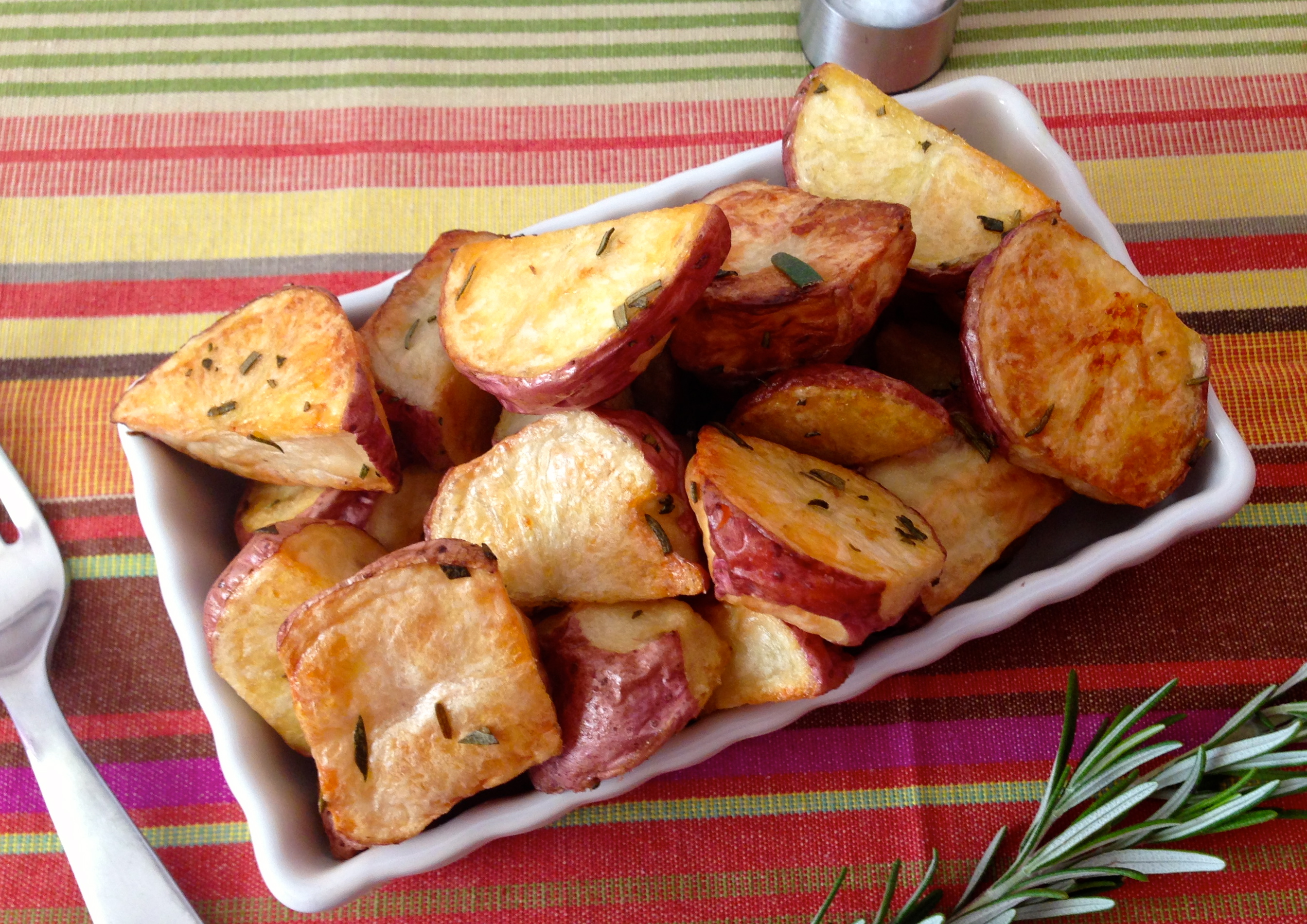 Rosemary Roasted Potatoes via KitchenNomad.com