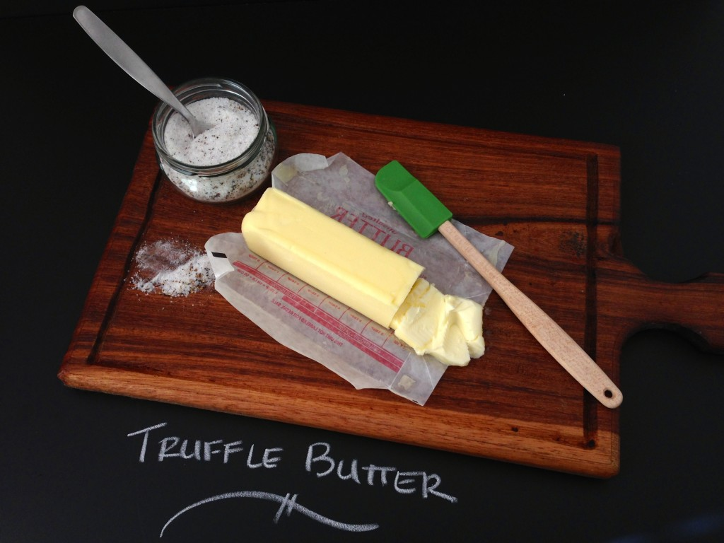 Truffle Butter via KitchenNomad.com